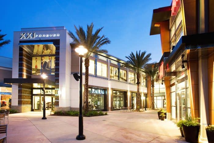 Os shoppings de Orlando