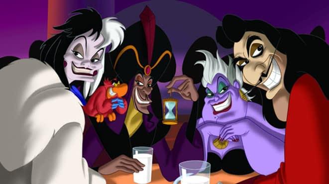 Os Vilões da Disney e suas canções
