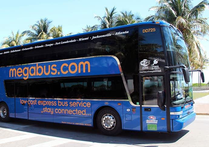Passagem de ônibus de Orlando para Miami
