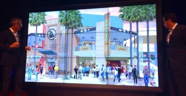 apresentação Universal CityWalk