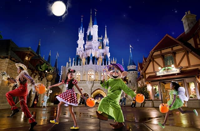 Mickey's Not-So-Scary Halloween Party no Magic Kingdom
