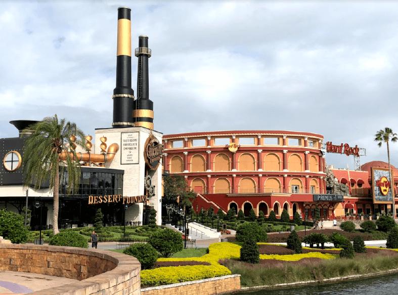 Universal CityWalk: o lugar ideal para uma pausa no Universal Orlando Resort
