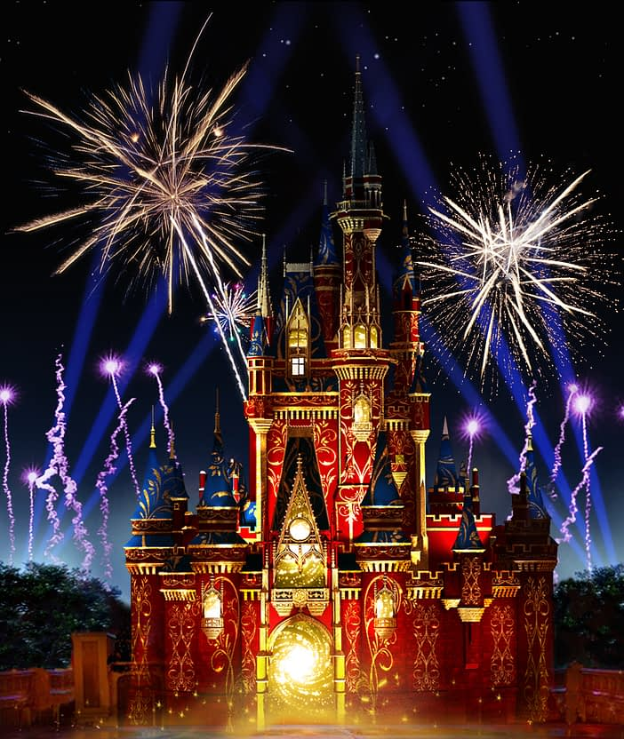 """""""Happily Ever AfterÓ Fireworks and Projection Spectacular Debuts May 12 at Magic Kingdom Park"""