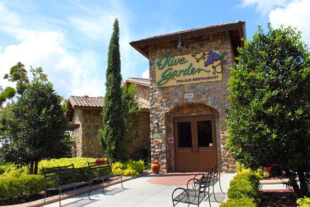 Fachada do Olive Garden da International Drive
