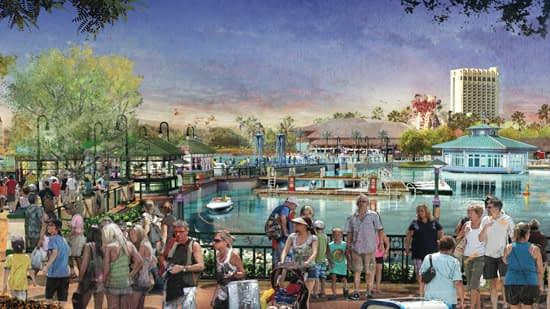 A nova Downtown Disney será assim