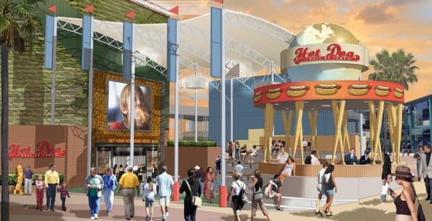 Salão Hot Dog of Fame na Universal