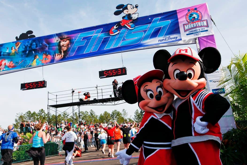 mickey corrida maratona disney